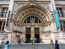 Pink Floyd wystawa przy VA muzeum w Londyn, hdr zdjęcia stock