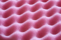 Pink foam Stock Image