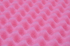 Pink foam protection Royalty Free Stock Photography