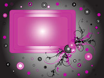 Pink frame Stock Photo