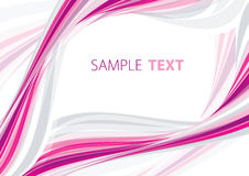 Pink frame. Abstract pink and gray frame. Vector stock illustration