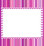 Pink frame Royalty Free Stock Photo