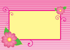 Pink frame Royalty Free Stock Images