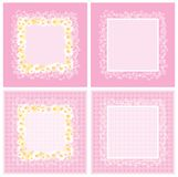 Pink frame Royalty Free Stock Image