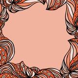 Pink frame Stock Image