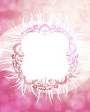 Pink Frame Background Stock Photos