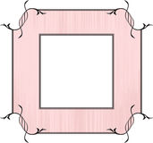 Pink Frame design Stock Photography