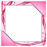 Pink frame Royalty Free Stock Photography