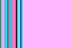Pink framed abstract background with colorful lines. Elegant frame pink abstract background with colorful vertical lines in blue, phosphorescent and red colors Vector Illustration