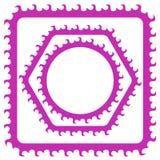 Pink Frames Royalty Free Stock Image