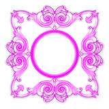 Pink framework Royalty Free Stock Photo