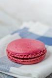 Pink french macaron Stock Photos