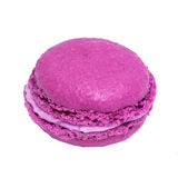 Pink french macaroons. Tasty colorful macaroon. Dessert Royalty Free Stock Photo