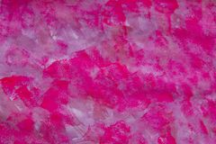 Pink, fuchsia hand painted texture, background - red paint brush strokes. Watercolor. stock images