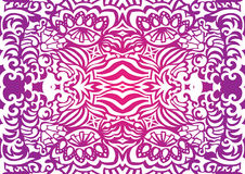 Pink funky seamless pattern. May be used as background Royalty Free Stock Image