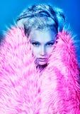 Pink fur Stock Photos