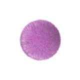 Pink fur Royalty Free Stock Photos