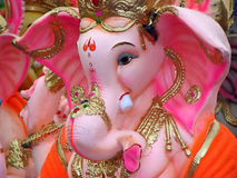 Pink Ganesh. An expensive pinkish idol of Lord Ganesh for sale in India Royalty Free Stock Photos