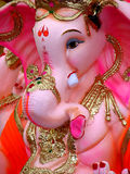 Pink Ganesh. An expensive pinkish idol of Lord Ganesh for sale in India Stock Photography