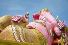 Pink ganesh statue Stock Photos