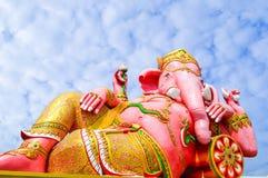 Pink ganesh statue Stock Image
