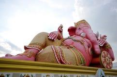 Pink ganesha Stock Image