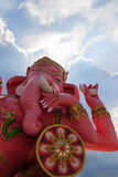 Pink Ganesha Statue Stock Photography