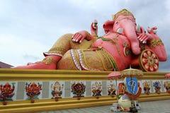 Pink ganesha statue Royalty Free Stock Image