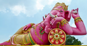 Pink Ganesha in Thailand Stock Photography