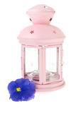 Pink garden lantern Royalty Free Stock Photography