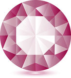Pink gem Royalty Free Stock Photography