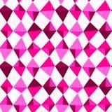 Pink Gemstones Seamless Background Stock Photography