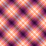 Pink geometric checkered Royalty Free Stock Images