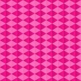 Pink geometric pattern of rhombuses Stock Photography