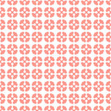 Pink geometric simple seamless pattern. Vector background Royalty Free Stock Image