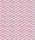 Pink geometrical Royalty Free Stock Photography