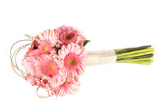 Pink gerbera bouquet Royalty Free Stock Photo