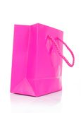 Pink gift bag Royalty Free Stock Photography