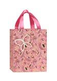 Pink Gift Bag Stock Photography