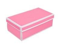 Pink gift box Royalty Free Stock Photography