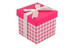 Pink gift box Stock Photo