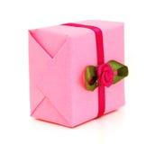 Pink gift box Royalty Free Stock Photos