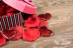 Pink gift box Royalty Free Stock Photo