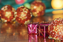 Pink gift boxes Royalty Free Stock Image
