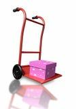 Pink gift Stock Image