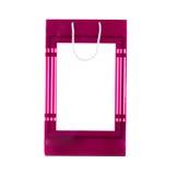 Pink gift paper bag. Royalty Free Stock Photos
