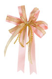 Pink gift ribbon Royalty Free Stock Photo