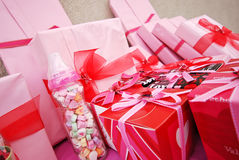 Pink Gifts Stock Image