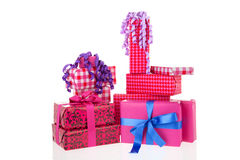 Pink gifts Stock Photo