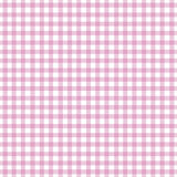 Pink Gingham. Pattern for backgrounds Royalty Free Stock Photo
